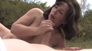 Granny, Blowjob, Babysitter, Outdoor, Cougar, Mommy, Grandmother