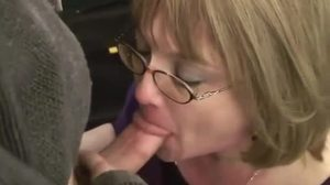 Sex, Mature, Mommy, Grandmother, Facial, Oral, Cougar