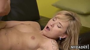 Sucking, Hardcore, Blowjob, Old and young, Blonde, Cock, Cuckold
